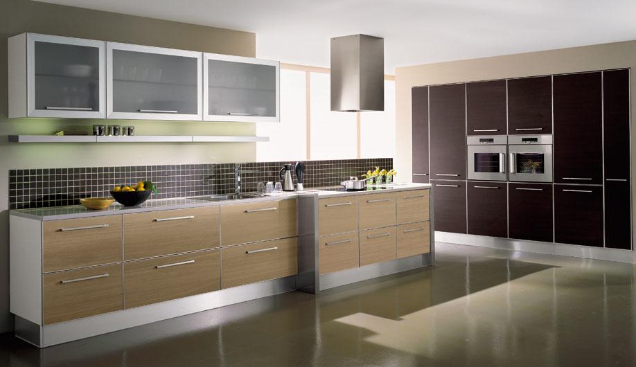 mẫu tủ bếp gỗ laminate công nghiệp đẹp cho nhà chung cư