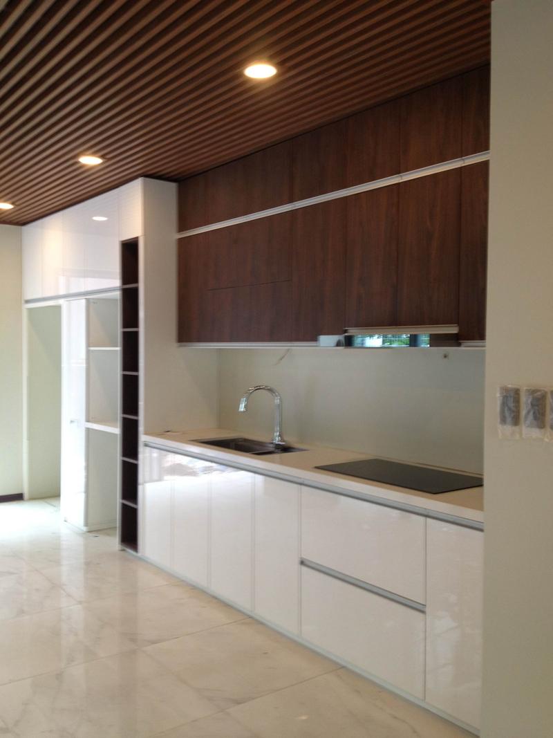 Hoàn thiện công trình tủ bếp nhà anh Tuấn