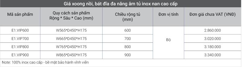 Giá đa năng âm tủ inox nan cao cấp EuroGold