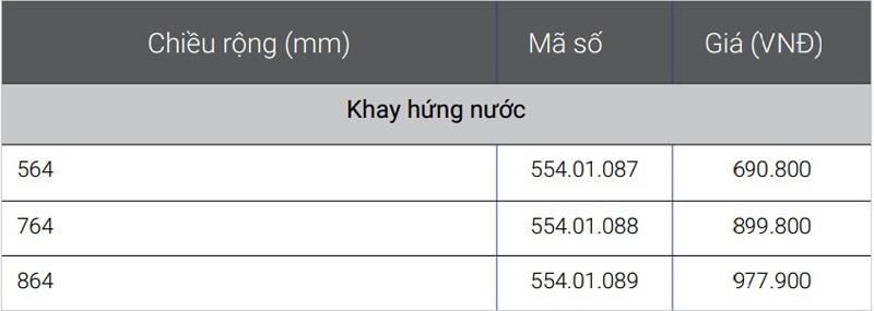 Khay hứng nước Hafele 554.01.087 chính hãng
