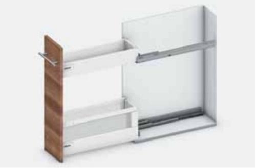 Ray hộp Blum dành cho tủ bếp hẹp 423.54.750
