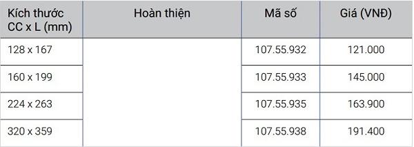 Tay nắm tủ Hafele 107.55.932
