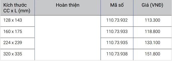 Tay nắm tủ Hafele 110.73.932