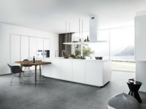 nội thất bếp bằng gỗ tinh tế