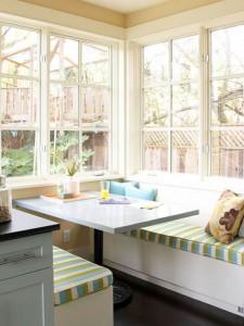 Mẫu nhà bếp theo phong cách quán ăn, nội thất bếp đẹp cho không gian nhỏ