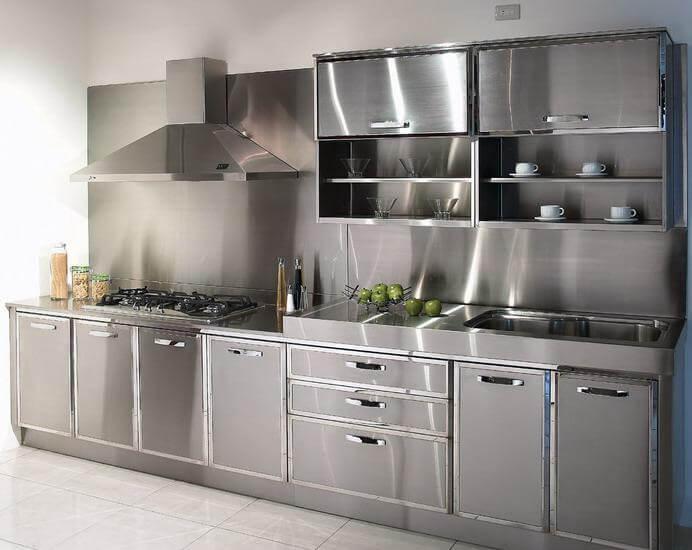Hình ảnh sản phẩm tủ bếp inox bền đẹp