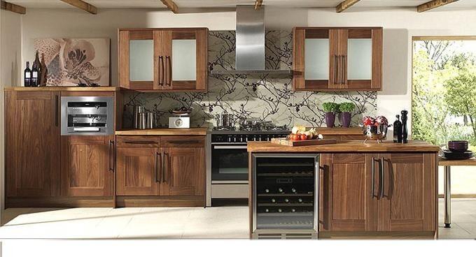 Các loại gỗ tự nhiên thường dùng để làm tủ bếp óc chó 1