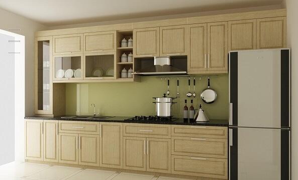 Các loại gỗ tự nhiên thường dùng để làm tủ bếp sồi 1
