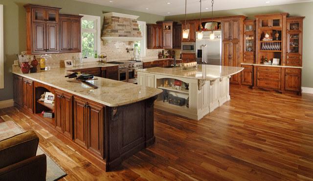 Nên đóng tủ bếp gỗ công nghiệp hay gỗ tự nhiên 2