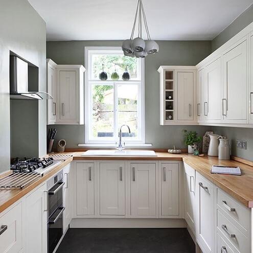 Những mẫu tủ bếp đầy đủ tiện nghi cho không gian nhỏ 5