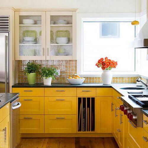 Những mẫu tủ bếp đầy đủ tiện nghi cho không gian nhỏ 6