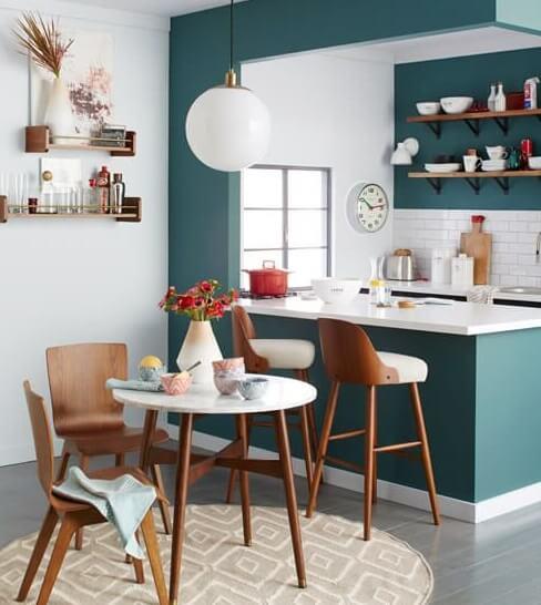 Những mẫu tủ bếp đầy đủ tiện nghi cho không gian nhỏ 8