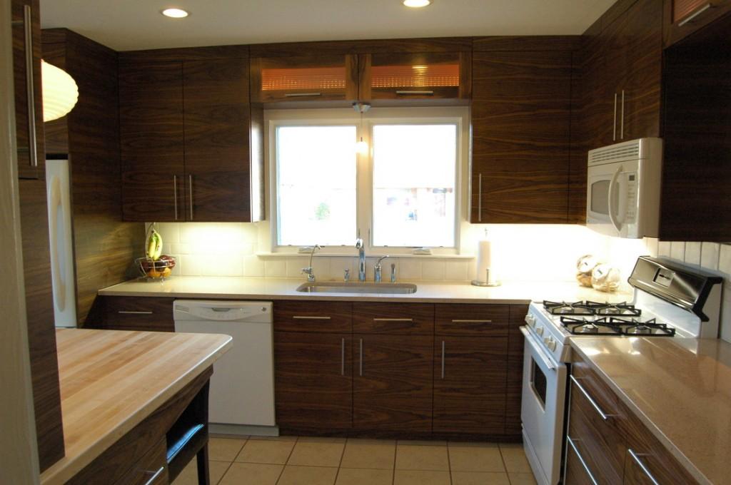 Kinh nghiệm bảo quản tủ bếp gỗ veneer