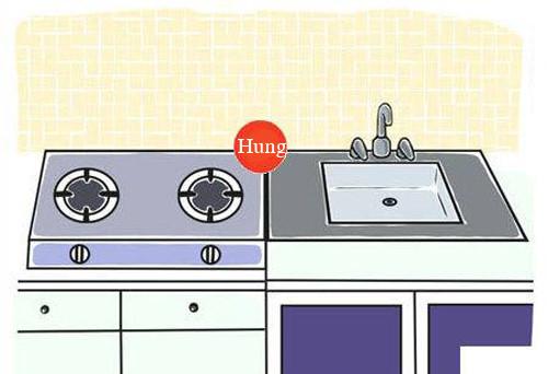 Những vị trí đặt bếp gây nguy hiểm và bất tiện cần tránh