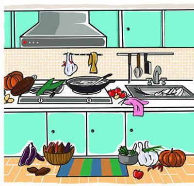 những vị trí đặt bếp nấu cần tránh
