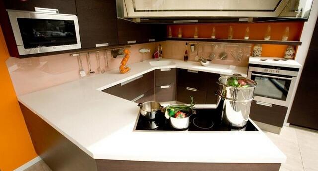 đá nhân tạo cho tủ bếp
