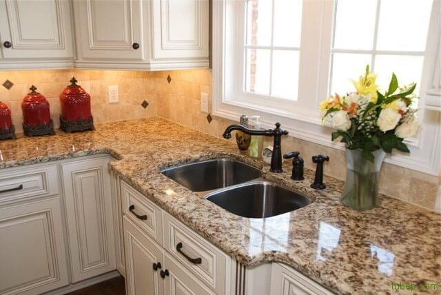 Đá granite cho tủ bếp