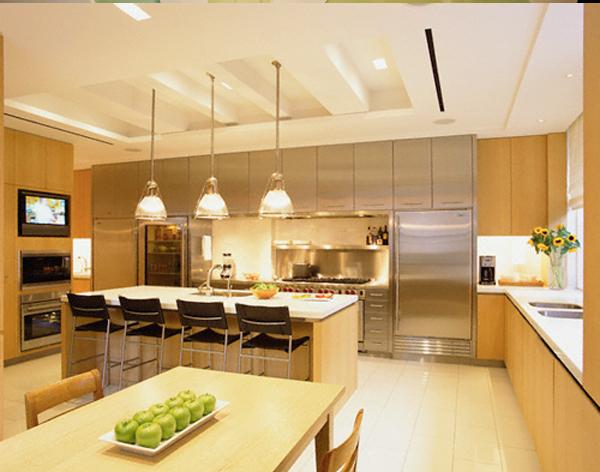 Cách trang trí phòng bếp đẹp