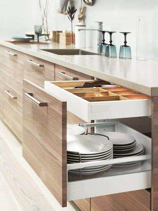 Các mẫu tủ bếp đẹp theo phong cách châu Âu