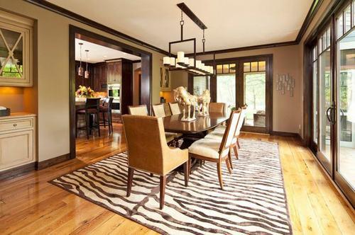 Những mẫu thiết kế phòng ăn đẹp với sàn gỗ, thiết kế phòng ăn đẹp, mẫu thiết kế phòng ăn