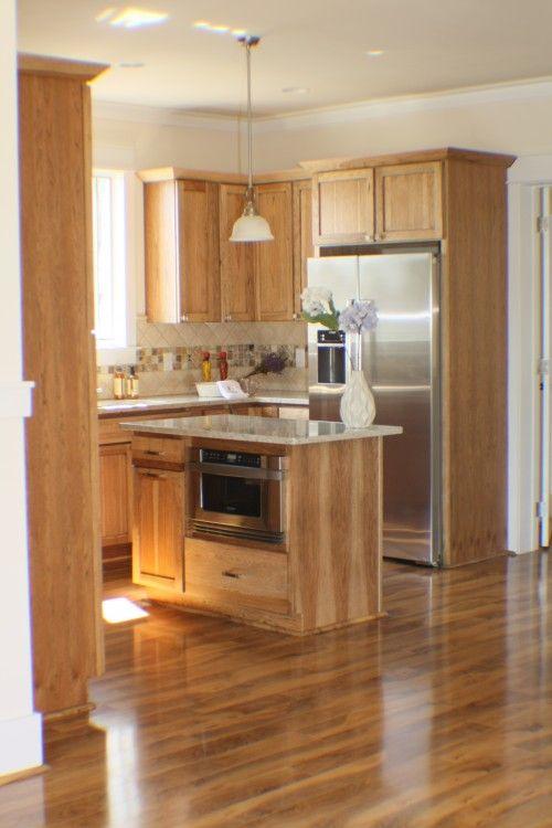 10 mẫu tủ bếp gỗ sồi Nga đẹp
