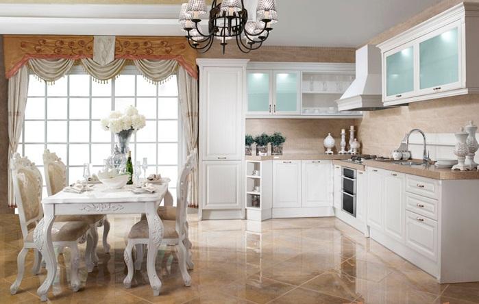 Mau tu bep chat lieu PVC dep cho nha chung cu12 Gợi ý mẫu thiết kế tủ bếp chất liệu PVC đẹp cho nhà chung cư