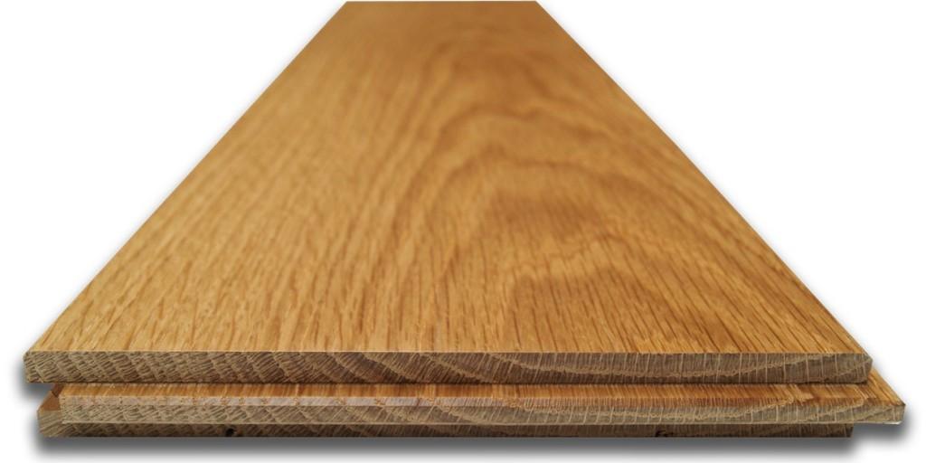 Mẫu tủ bếp gỗ sồi Nga đẹp kiểu chữ L