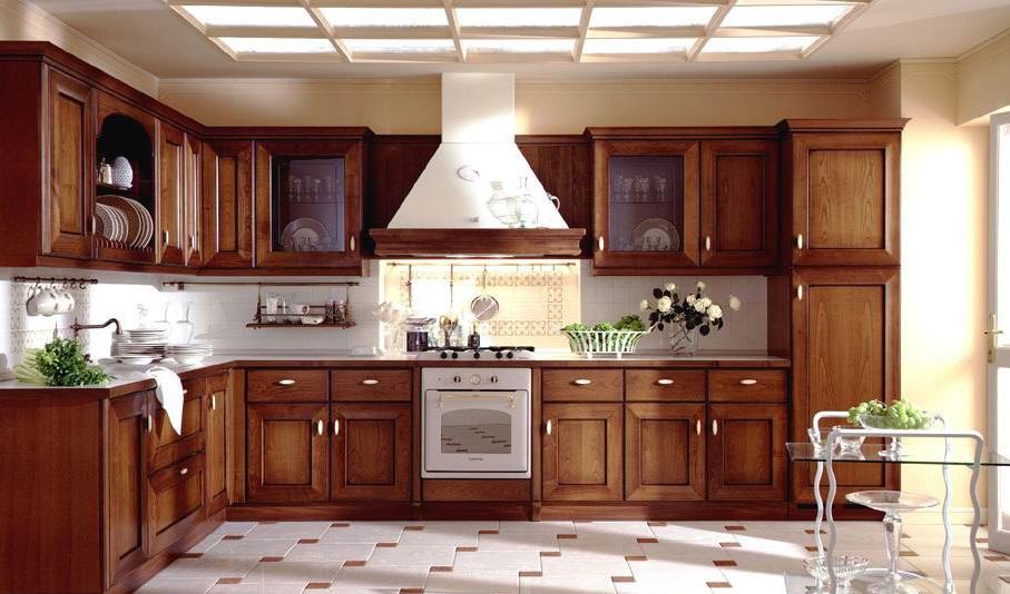 ejb1370331082 Cùng nhìn qua mẫu tủ bếp gỗ giáng hương đẹp cho nhà bếp nhỏ