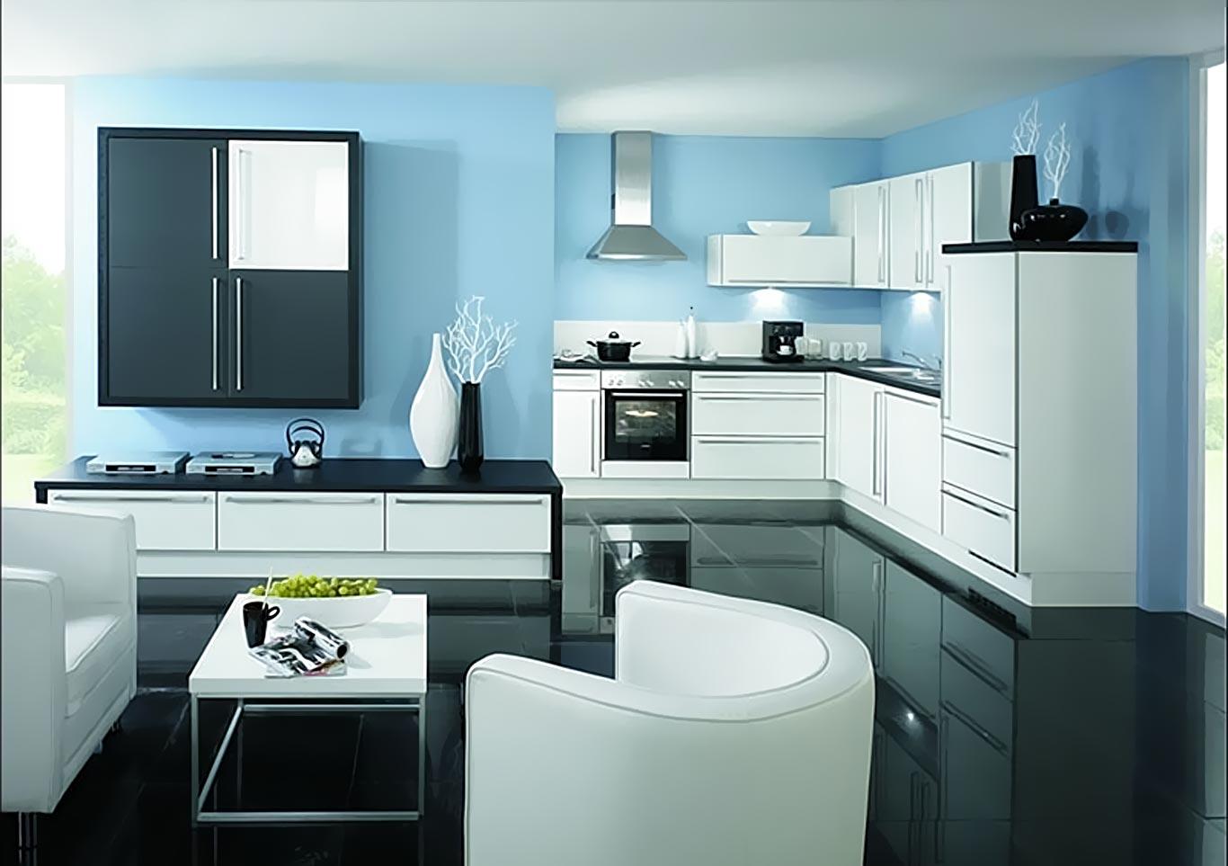 Mẫu tủ bếp Acrylic hiện đại nhất năm