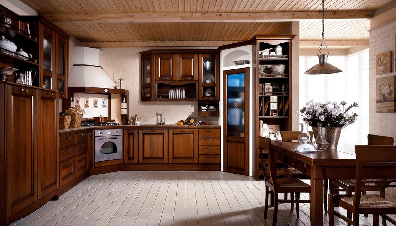 Mầu gỗ trầm ấm kết hợp các đường nét tinh tế tạo cảm giác sang trọng, ấm cúng